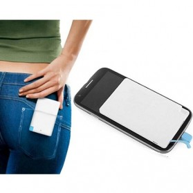 Credit Card Power Bank 3200mAh - 129032K - White - 5