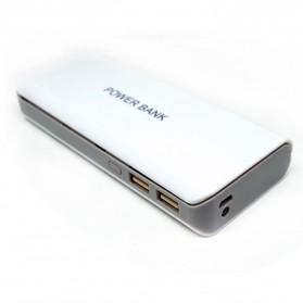 VBESTLIFE Case Power Bank untuk 5 PCS 18650 - C12 - White - 2