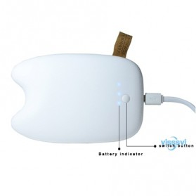 Totoro Power Bank 10400 mAh - DengYan Design - White - 3