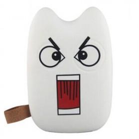 Totoro Power Bank 10400 mAh - BaoLong Design - White