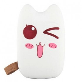 Totoro Power Bank 10400 mAh - MengMei Design - White