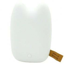 Totoro Power Bank 10400 mAh - MengMei Design - White - 2