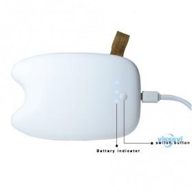 Totoro Power Bank 10400 mAh - MengMei Design - White - 3