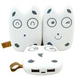 Totoro Power Bank 10400 mAh - MengMei Design - White - 5