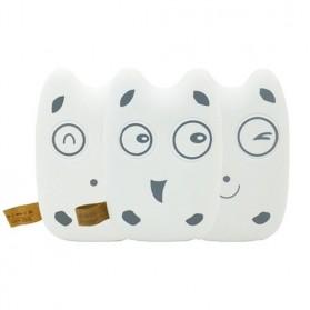 Totoro Power Bank 10400 mAh - MengMei Design - White - 6