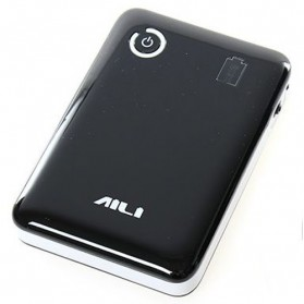 AILI Case Power Bank DIY untuk 4 PCS 18650 - Black White - 1
