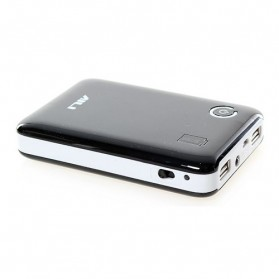 AILI Case Power Bank DIY untuk 4 PCS 18650 - Black White - 4