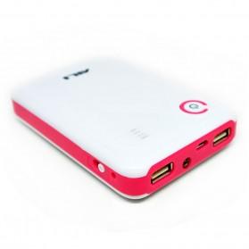 AILI Case Power Bank DIY untuk 4 PCS 18650 - White/Pink - 2