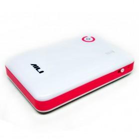 AILI Case Power Bank DIY untuk 4 PCS 18650 - White/Pink - 3