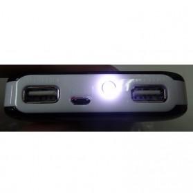 AILI Case Power Bank DIY untuk 4 PCS 18650 - White/Pink - 6