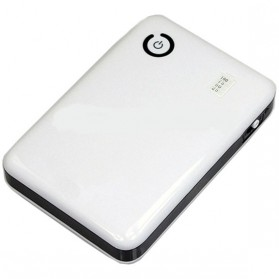AILI Case Power Bank DIY untuk 4 PCS 18650 - White/Black