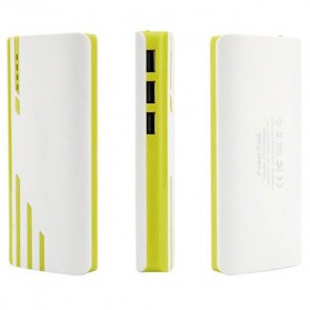 SNOOY Power Bank 3 Color Strip 3 USB Port 10400mAh - Gray - 4