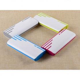SNOOY Power Bank 3 Color Strip 3 USB Port 10400mAh - Gray - 6