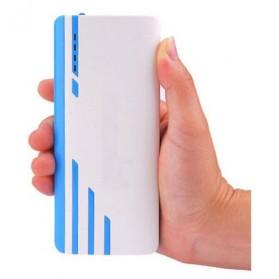 SNOOY Power Bank 3 Color Strip 3 USB Port 10400mAh - Gray - 8