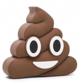 Power Bank Emoji Model Kotoran 8800mAh - F-S001 - Chocolate - 2