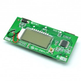 DIY Circuit Board 2 USB Port LCD Display 6 Section For Power Bank Case