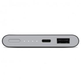 Xiaomi Power Bank Super Thin Portable USB Type C 10000mAh (Replika 1:1) - Gray - 3
