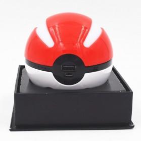 Power Bank Pokemon Pokeball 10000mAh - Red - 3