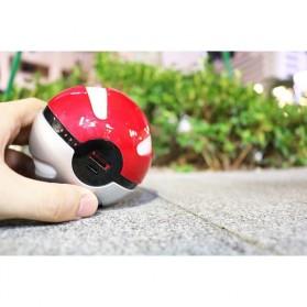 Power Bank Pokemon Pokeball 10000mAh - Red - 6