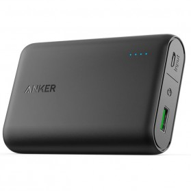 Anker PowerCore Power Bank 10000mAh Qualcomm QC 3.0 - Black