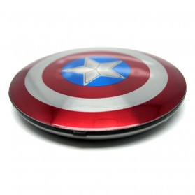 DGPOWER Power Bank Perisai Captain America 2 Port 6800mAh - CT68 - Red - 3