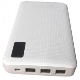 Sinofer Power Bank 3 USB Port 20000mAh - White - 2
