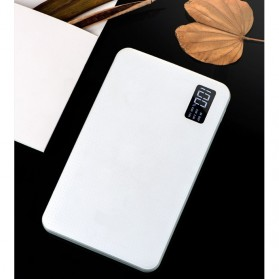 Sinofer Power Bank 3 USB Port 20000mAh - White - 7