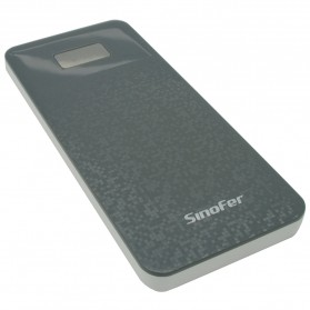 Sinofer Power Bank Ultra Slim 8000mAh - Dark Gray