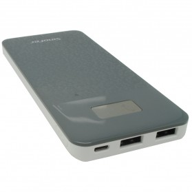 Sinofer Power Bank Ultra Slim 8000mAh - Dark Gray - 2