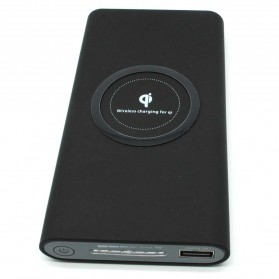 Wireless Charging Power Bank 10000mAh - 171021 - Black