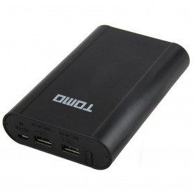 TOMO M4 DIY Power Bank Case 2 USB Port - Black - 2