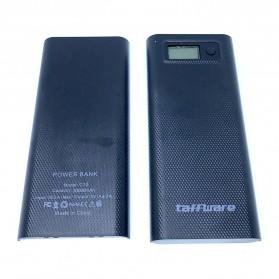 Taffware DIY Power Bank Case 2 USB Port & LCD 8x18650 - C13 - Black - 2