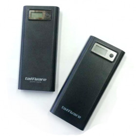 Taffware DIY Power Bank Case USB Type C Dual Output & LCD 8x18650 - C13 - White - 10