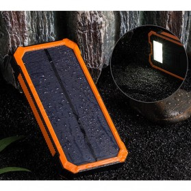 ALLPOWERS Solar Power Bank 2 USB Port 20000mAh - ES100 - Black - 1
