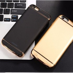 Joyroom Power Bank Case 2500mAh for iPhone 7/8 - Black Gold - 6