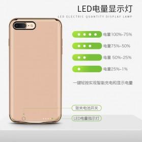 Joyroom Power Bank Case 3500mAh for iPhone 7 Plus / 8 Plus - Black Gold - 2