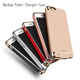 Joyroom Power Bank Case 3500mAh for iPhone 7 Plus / 8 Plus - Black Gold - 4
