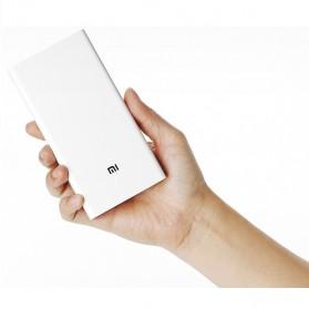 Xiaomi Power Bank 20000mAh (Replika 1:1) - White - 4