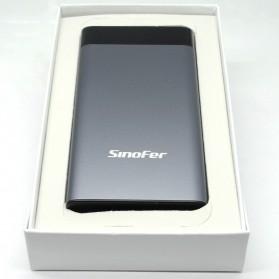Portable Power Bank LCD Indicator 2 Port 10000mAh - Black - 3