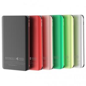 Sinofer Power Bank Ultra Thin Dual USB Port 10000mAh QC 3.0 - SP-18F - Black - 2