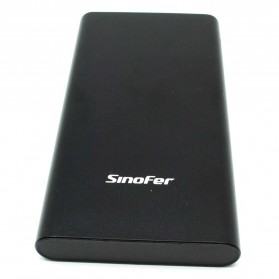 Sinofer Portable Power Bank USB Type C 3 Port 10000mAh - SP-19 - Black