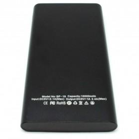 Sinofer Portable Power Bank USB Type C 3 Port 10000mAh - SP-19 - Black - 2
