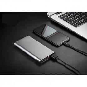 Sinofer Portable Power Bank USB Type C 3 Port 10000mAh - SP-19 - Black - 7