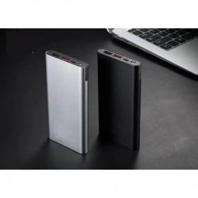 Sinofer Portable Power Bank USB Type C 3 Port 10000mAh - SP-19 - Black - 8
