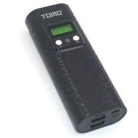 TOMO K2 DIY Power Bank Case 2 USB Port - Black