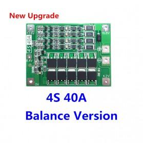 Power Bank DIY PCB Circuit Board 4S 40A 18650 - Green