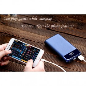 Power Bank Quick Charge 2 Port 20000mAh with LED Flash - M200 - Black - 6