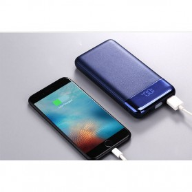 Power Bank Quick Charge 2 Port 20000mAh with LED Flash - M200 - Black - 9