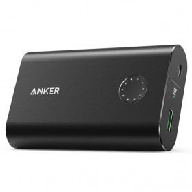 Anker PowerCore+ Power Bank 10050mAh Qualcomm QC 3.0 - Black