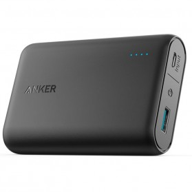 Anker PowerCore Power Bank 10000mAh QC 3.0 Upgrade with Power IQ - Black